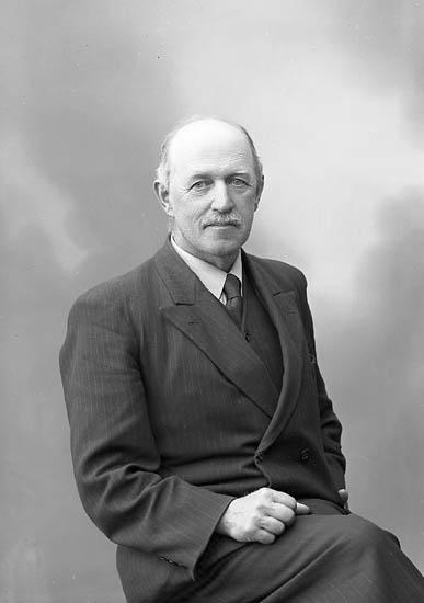 """Enligt fotografens journal nr 7 1944-1950: """"Johnsson, Herr Bo, Jordhammar Ödsmål""""."""