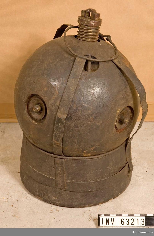 Grupp F II.   Märkt: CLF AM-1845 No 1774. För slätborrad bombkanon.