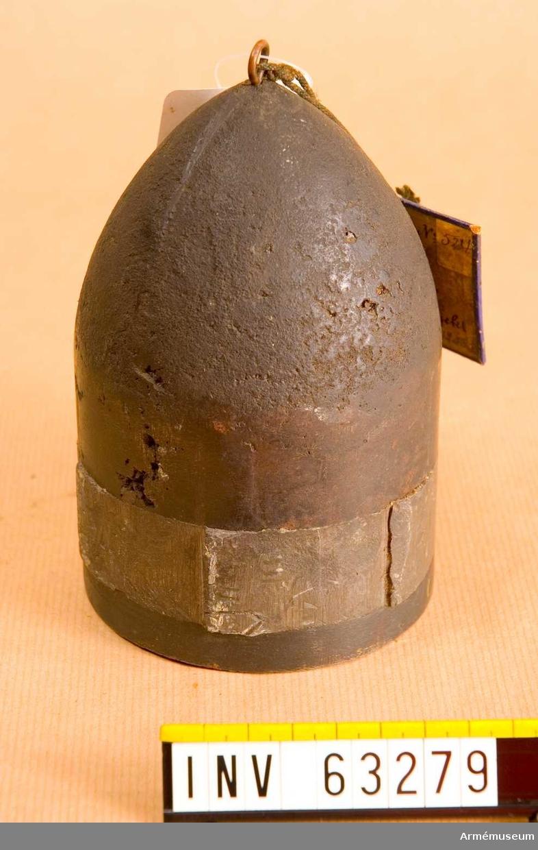 Grupp F II.   Inrättad för blyföring, till räfflad 6-pundig kanon.