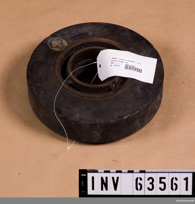 Grupp F V. Oklart vilken stridsvagn föremålet hör till, fm/1928 Renault eller fm/Carden-Loyd.