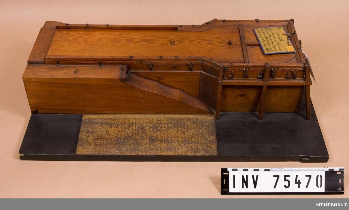 Grupp G I. För Stockholms artillerilaboratorium. Fastställd 9.11.1764.