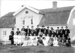 """Enligt senare noteringar: """"Bondeförbundsmöte, 10 augusti 192"""