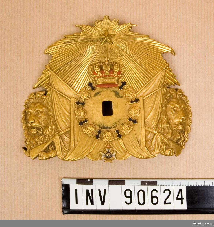 Vapenplåt m/1865