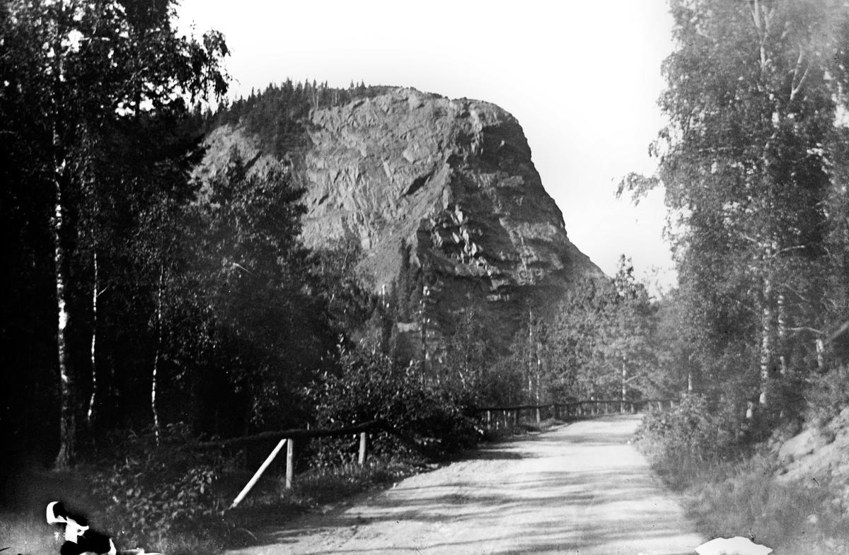 Tabergs berg sett från vägen ut mot Månsarp.