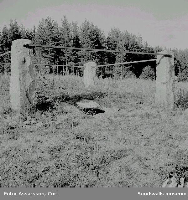 Den 4000-åriga megalitgraven i Lagmansören.