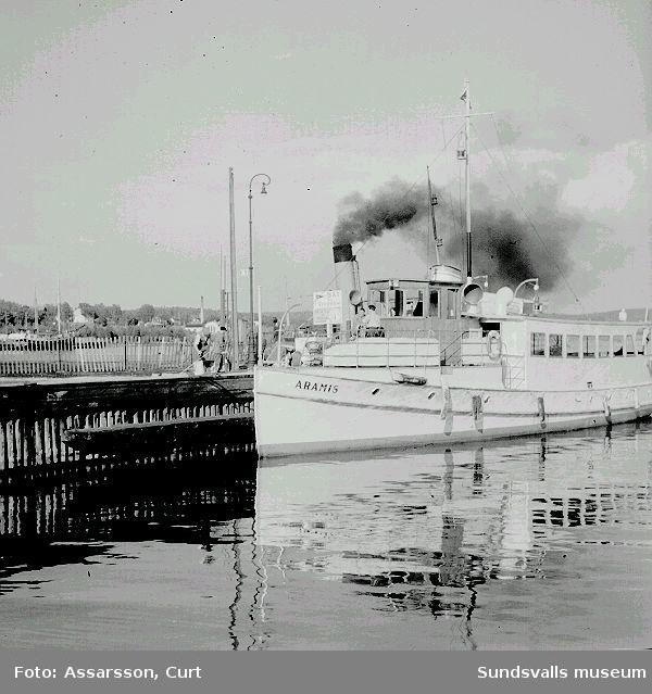 """M/F """"Aramis"""" Passagerarbåt."""