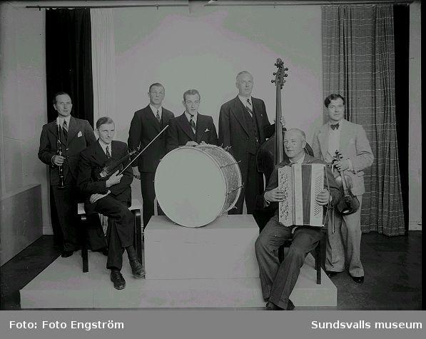 Orkester, musikensemble.