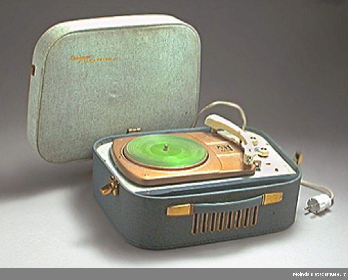 Grammofonen kommer från Brattåsskolan.