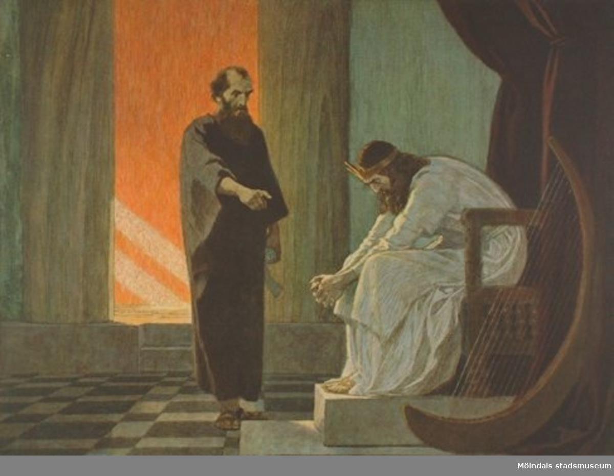 Kristendomskunskap:David och profeten Natan.Bibeln i bild nr. 8.