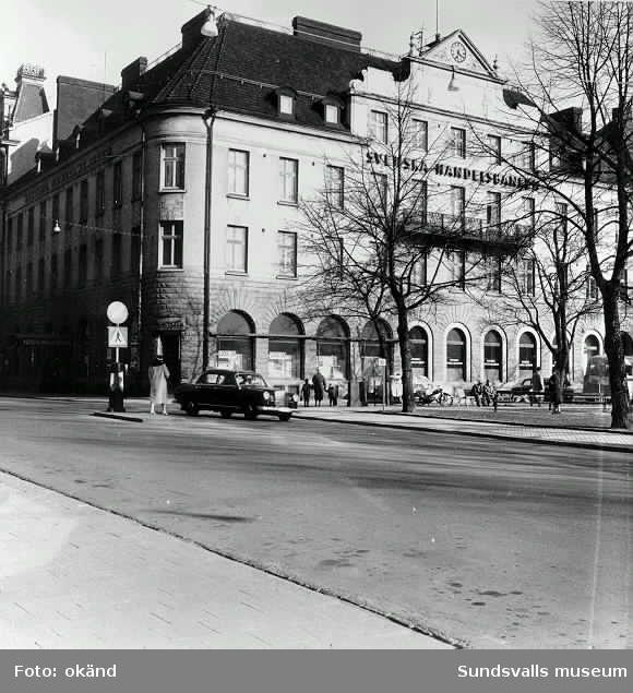 Sundsvalls Handelsbank, Upplands Enskilda Bank, Svenska Handelsbanken,