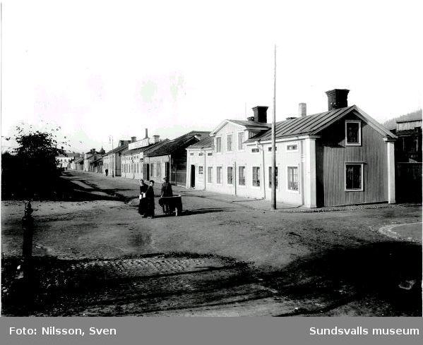 Vy från Skepparegatan, Norrmalm. Kv Håven närmast.