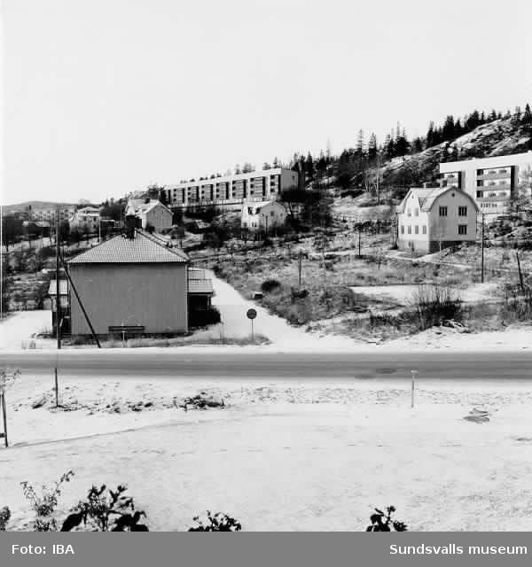Rivningsområde, Ortviken 14nov 1972