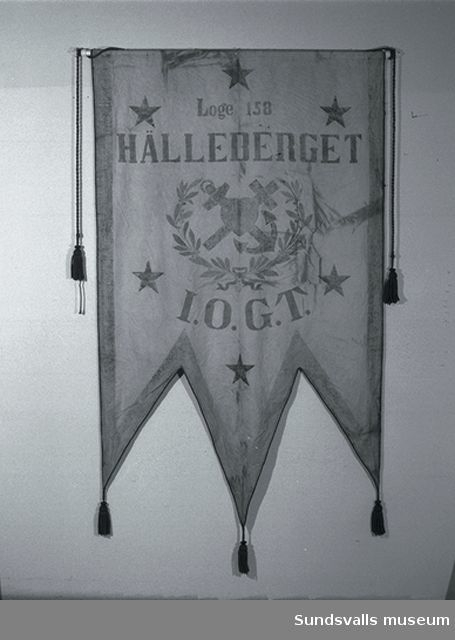 Standar loge 158 Hälleberget I.O.G.T.