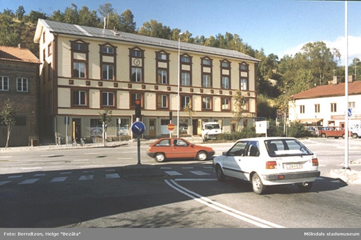 Gamla stadshuset noggrant restaurerat till originalskick 1987.