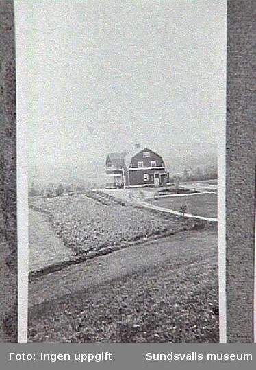 Hemgården. Familjen Braathens sommarbostad, användes som tuberkeloskoloni för barn från 1915.