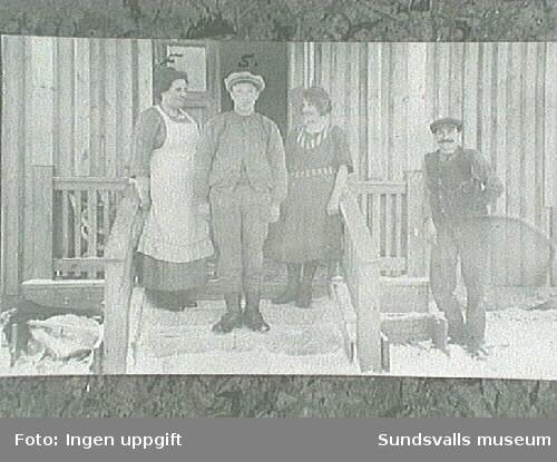 Korsta gård. Fotografier inlånat från Selångers Hembygds-förening.