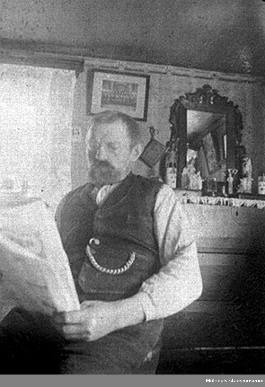C. A. Johansson levde mellan 1858-05-19 och 1921-04-21.