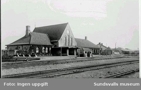 Sundsvalls centralstation.