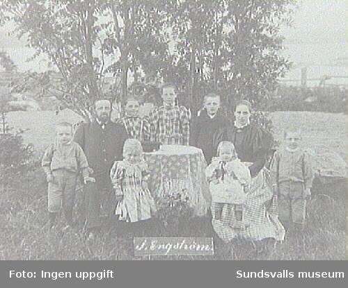 Alnö hembygdsförenings fotosamlingPorträtt taget under Patron Öqvists tid som ägare.