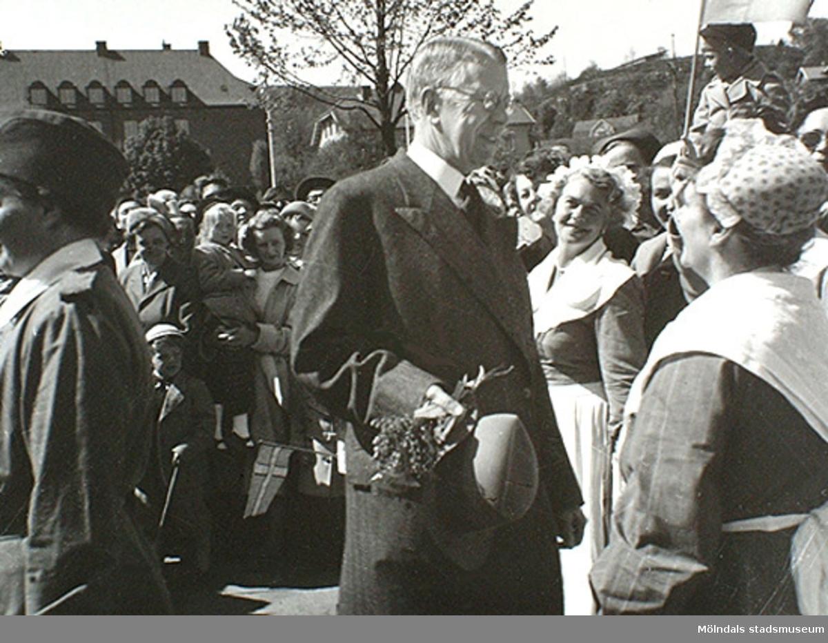 Nya torget 1952.