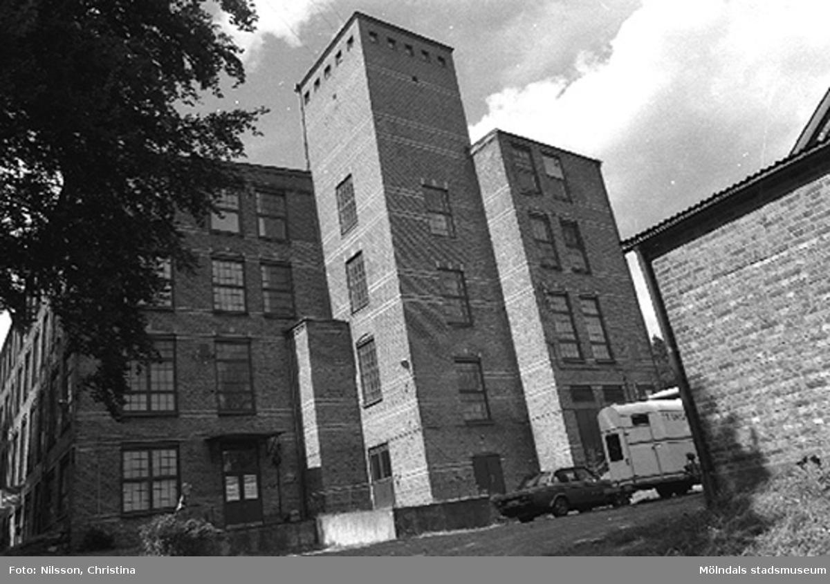 Werners fabriker i Annestorp, Lindome, hösten 1994.