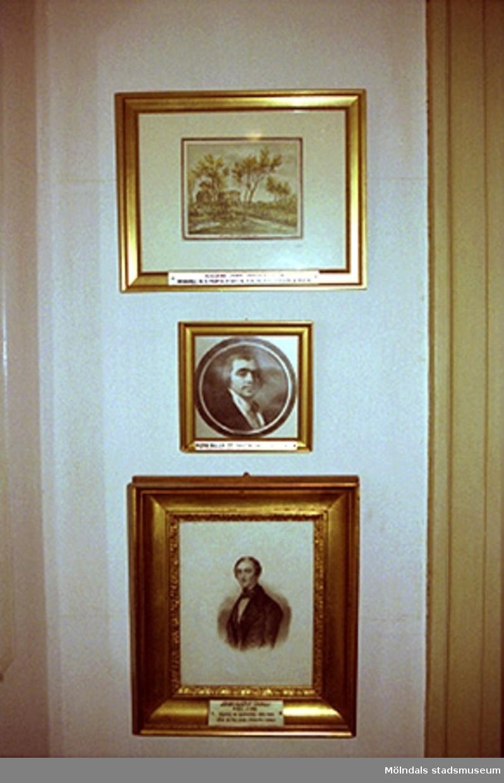 Utställning på Gunnebo slott.John Halls eller Carlsbergs teckningar.