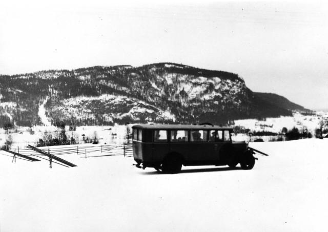 Linjen Mattmar - Stenstavik. Hoverberg
