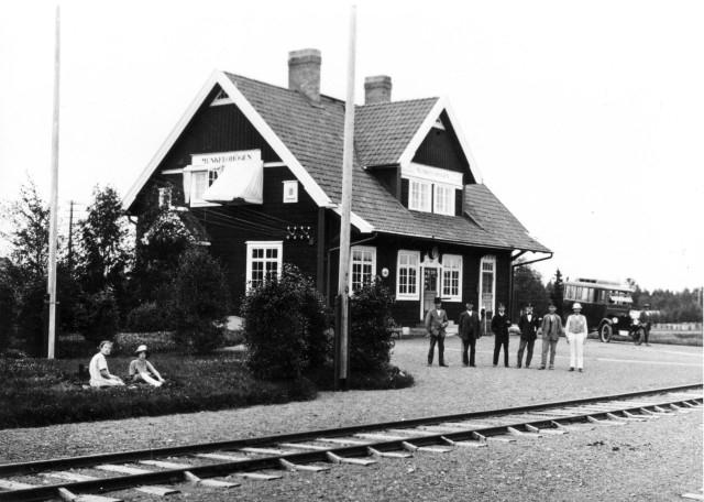 Linjen Munkflohögen - Föllinge - Laxsjö Munkflohögen.