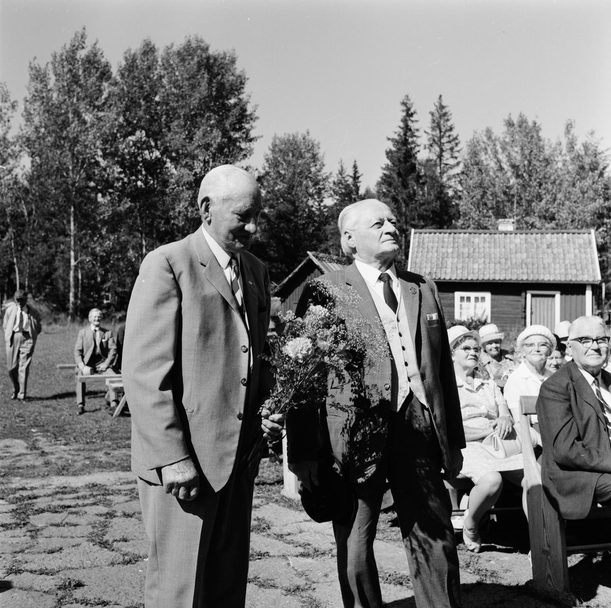 Hållnäs pensionärsförening har jubileumsfest på Hållnäs hembygdsgård