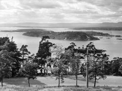 Oslofjorden med Hovedöen.