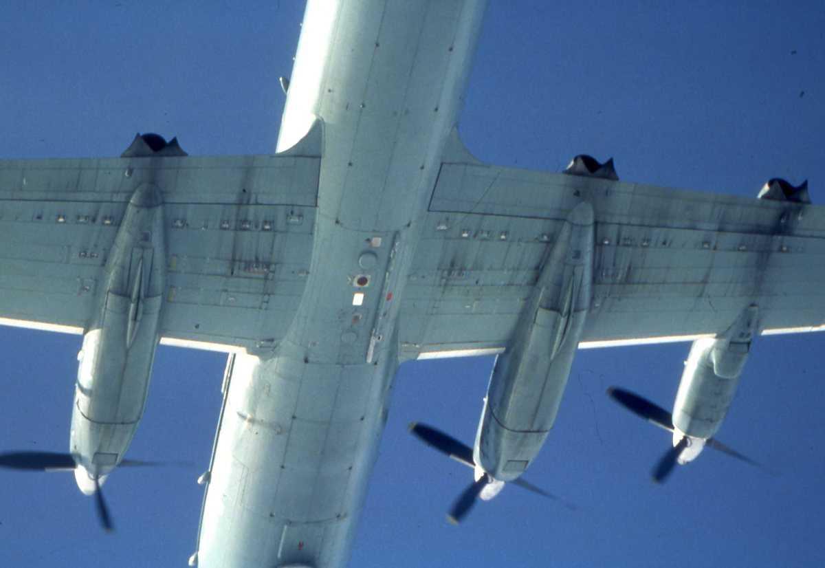Russisk fly av typen May.