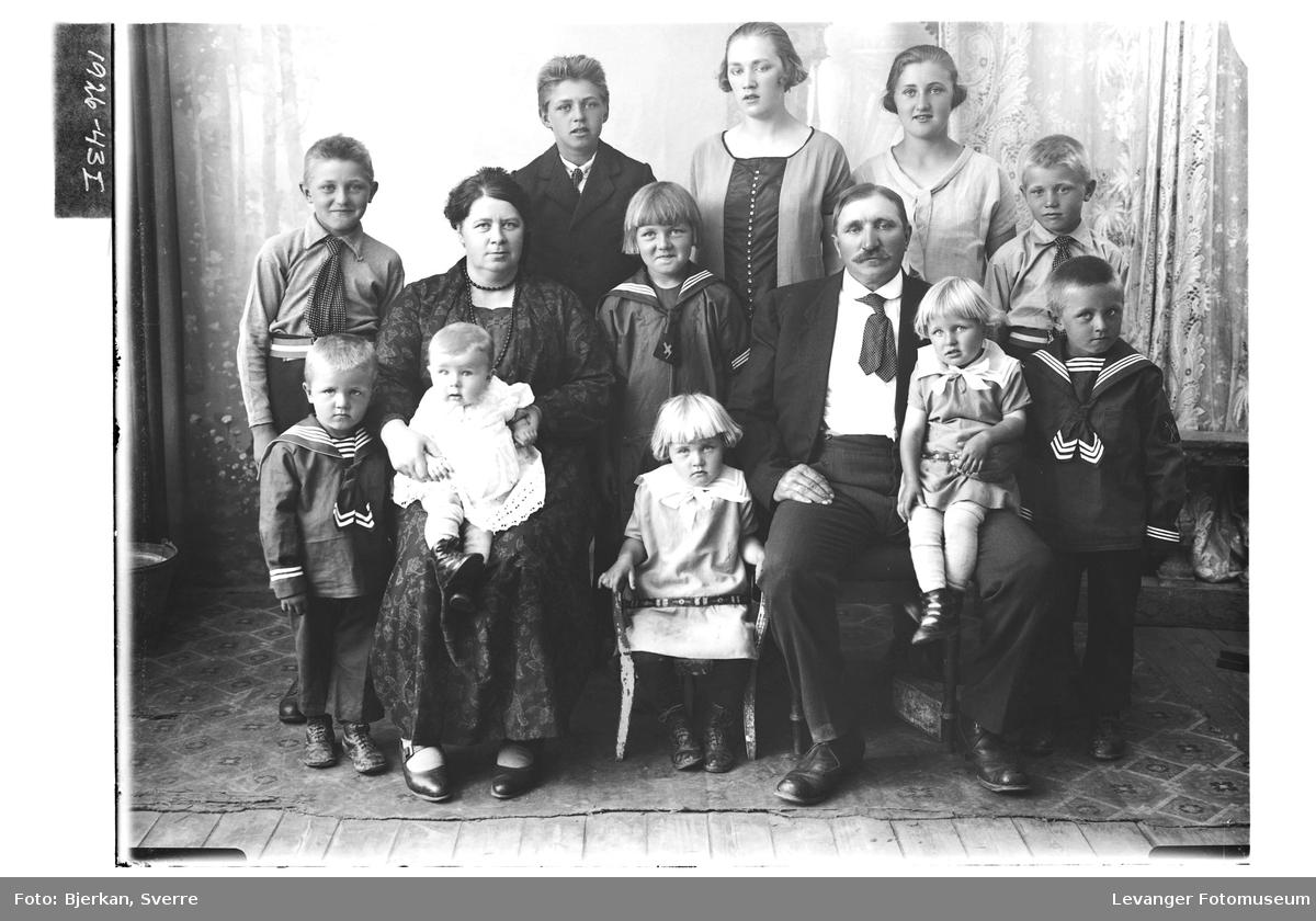 Klaus Grøneng med familie