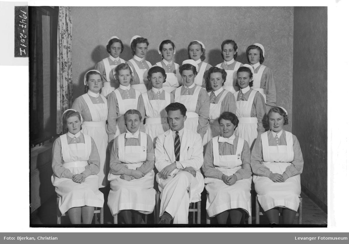 Forskoleelevene ved Innherreds Sykehus
