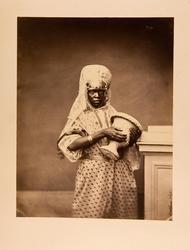 En Betlehemsk negrinna uppasserska i det Johanniterorderns k