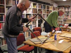 Berg-Kragerø museums venner gjør diverse oppgaver, 11.11.200
