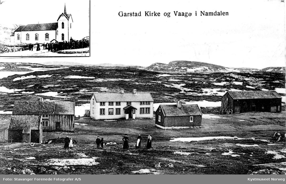 Vikna kommune, Garstad Kirke og Vågøya
