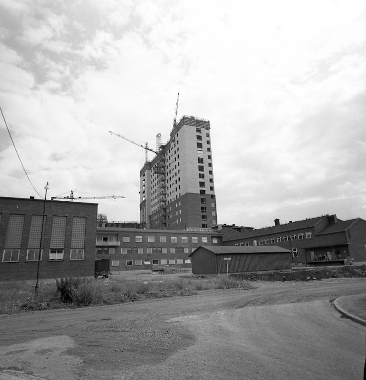 """Enligt notering: """"Uddevalla Lasarett Juli -60""""."""