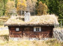 Stølsbu på Hemsedal Bygdatun på gården øvre Løkji