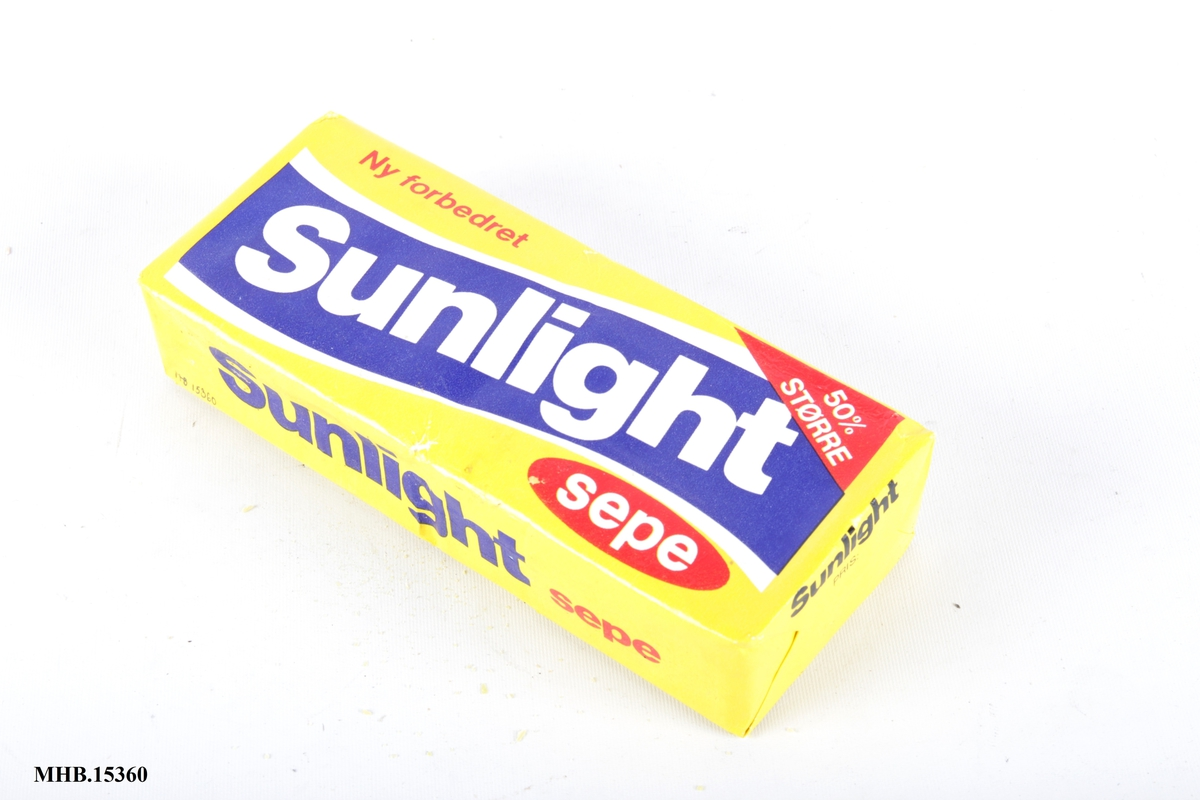 Sunlightsåpe i original emballasje.