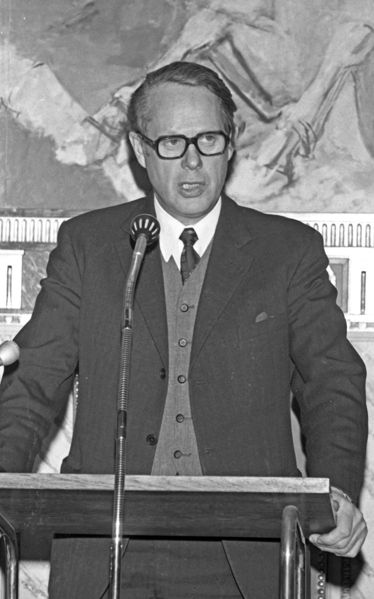 Ordfører Jens Edv. Haugland - 27/3-1972.