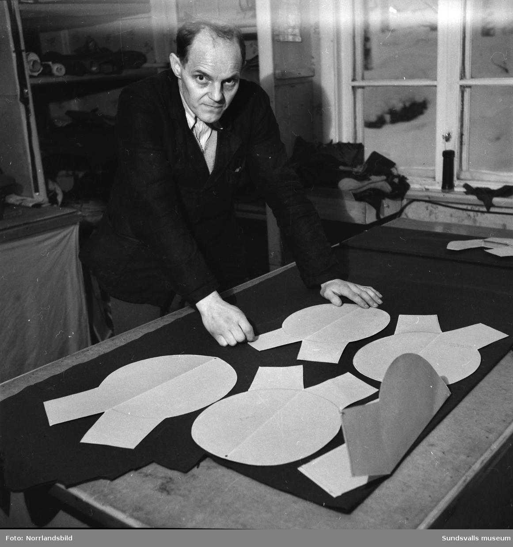 Hilding Frost, chef för sko- och mössfabriken i Stöde.