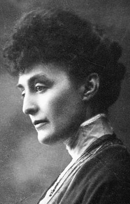 Katti Anker Møller, portrettfoto. Nasjonalbiblioteket
