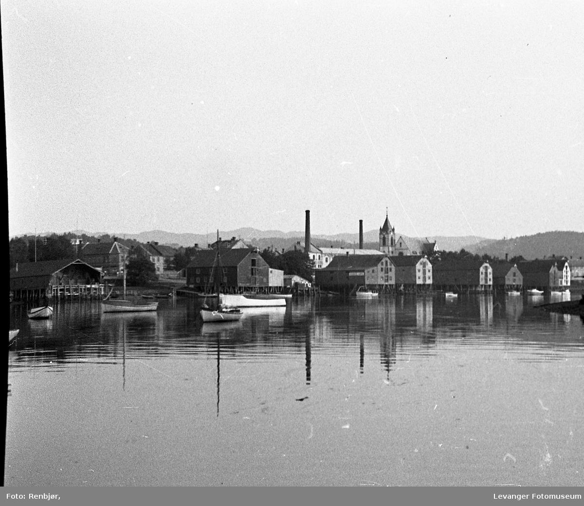 Bryggene i Levangersundet