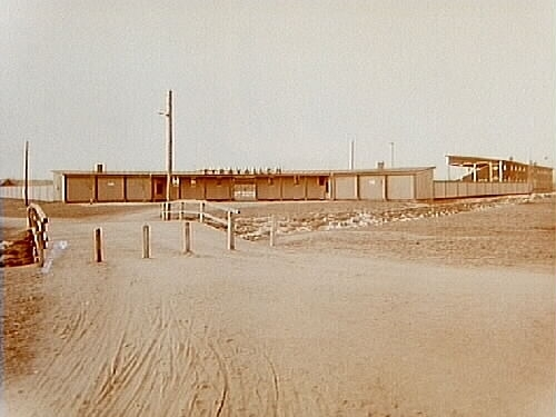 Eyravallen idrottsplats.Guldsmed Almgren