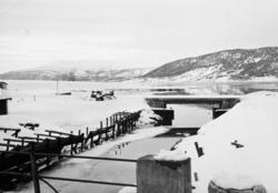 Jernbaneanlegget Mosjøen-Mo i Rana : Mobekken sett mot jernb