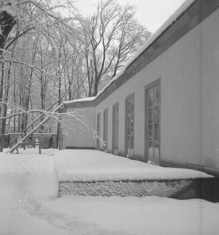 Örebro Konsthall, exteriör.28 december 1949.