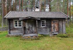 Skredderstua fra Kvesetmoen, Hof i Åsnes