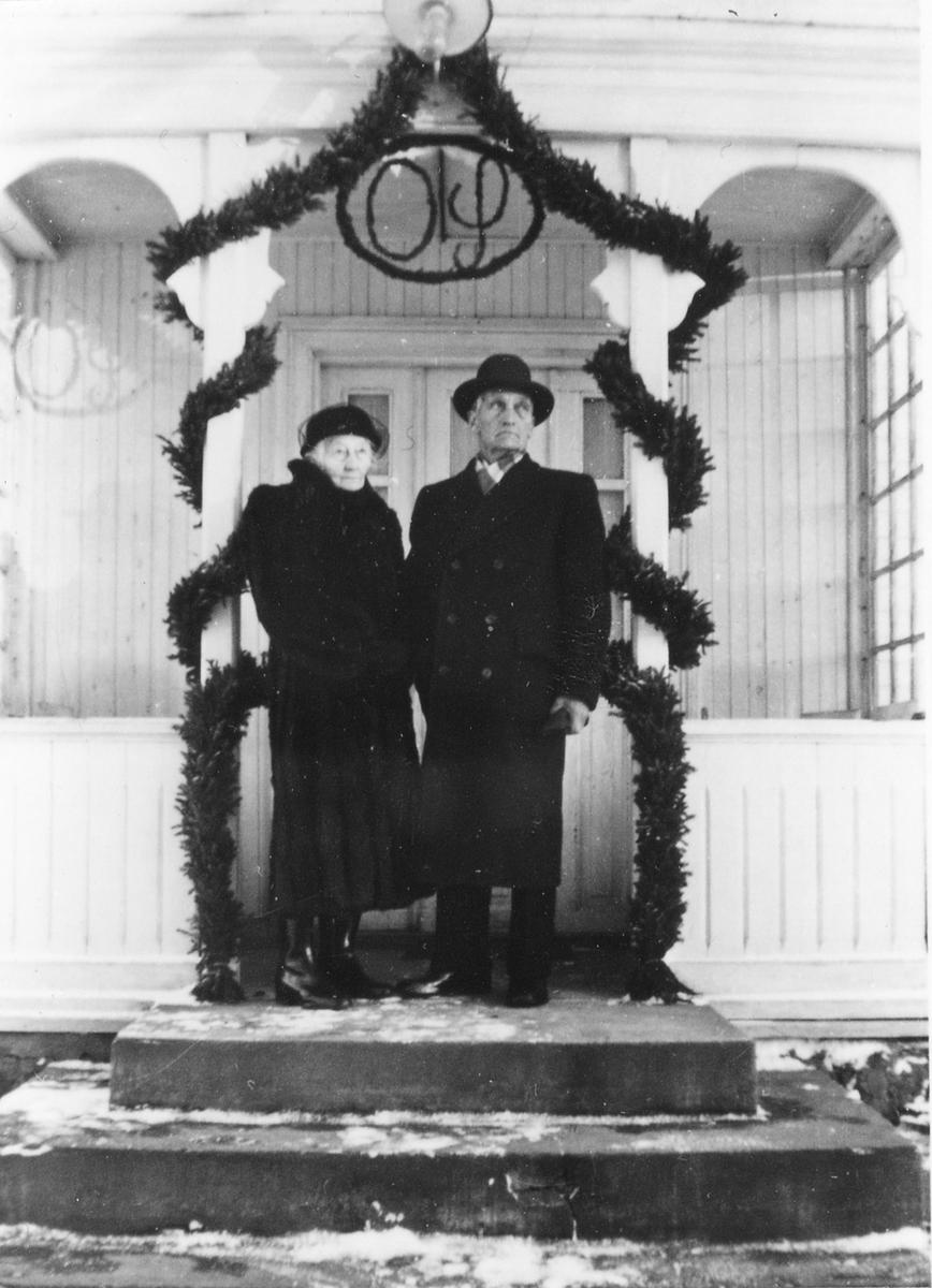 Gunda Sønsteby og Jens Grundset