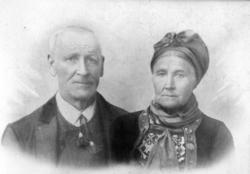 Ola Sjugrudson Grøthe (1830-1910), gift i 1861 med Anne Knut