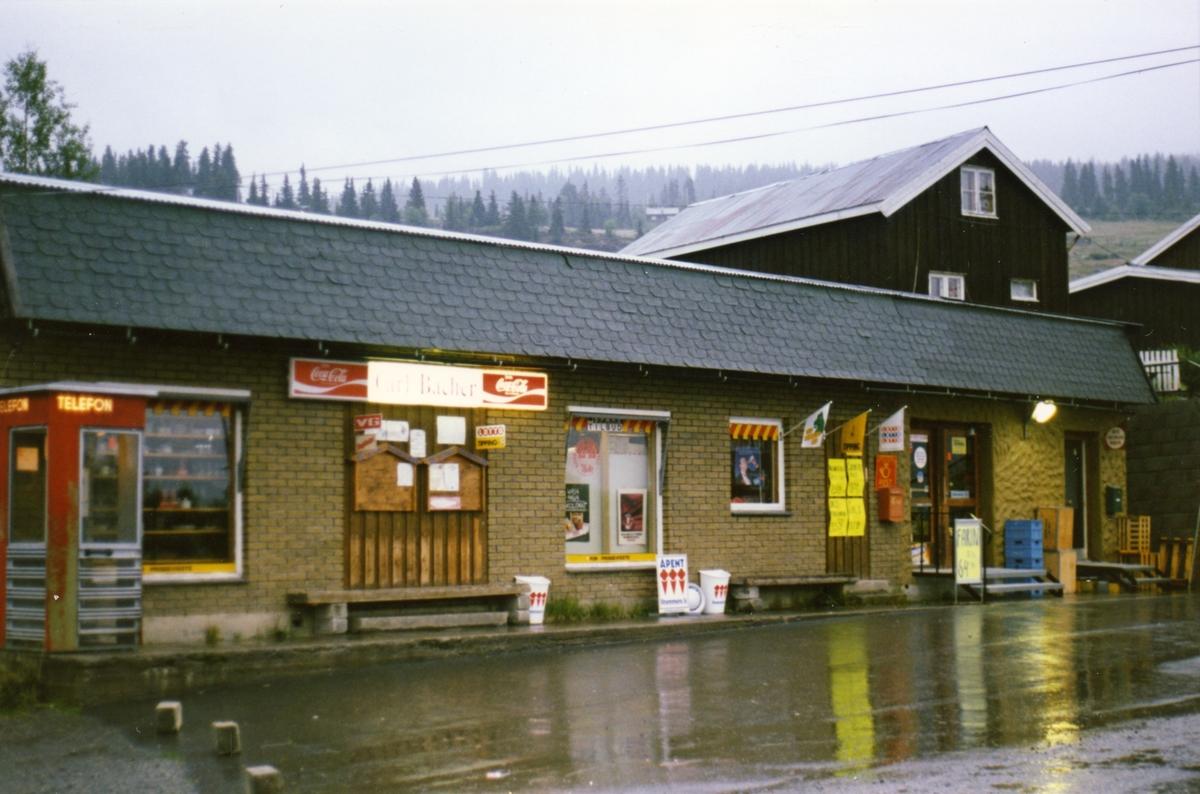 Bacher-butikken i Nord-Etnedal i 1987